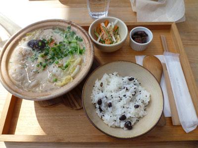 冬季限定。味噌粕鍋。900円。