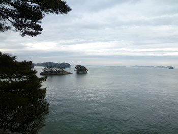 雄島からの眺め。