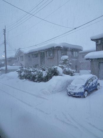 地吹雪です。