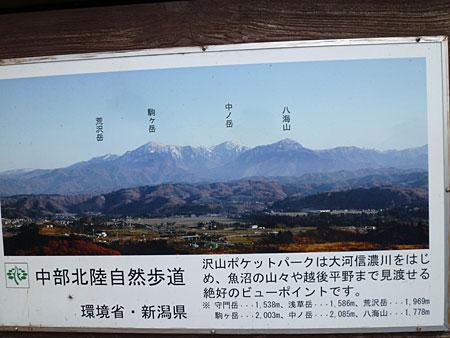 (晴れていれば、魚沼三山)