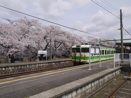 ( 電車来たー )