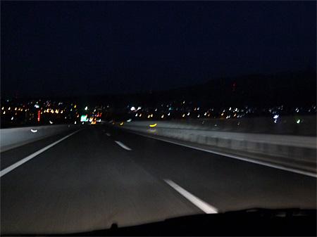 ( 渋川の夜景!)