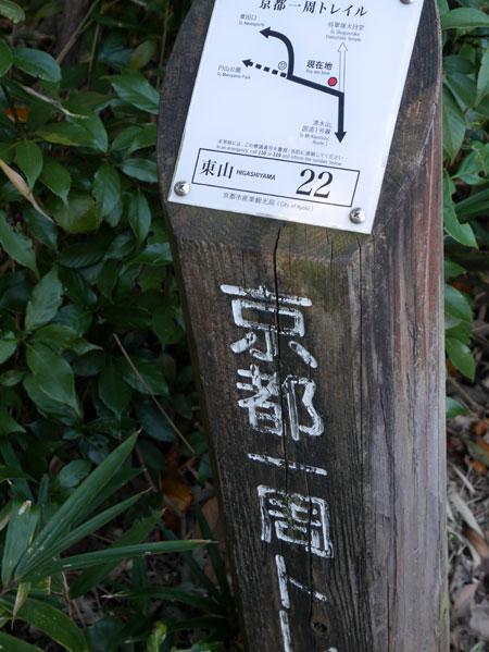 ( 京都東山トレイルに出発 )