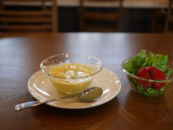 ( スープ最高!)
