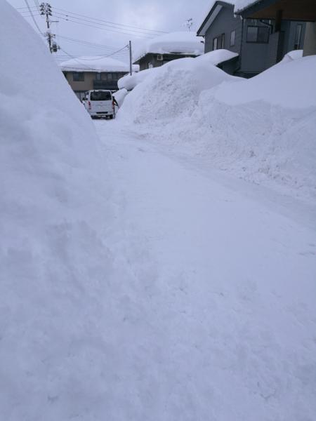 ( 雪の回廊? )