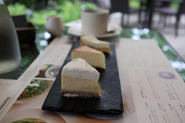 ( チーズケーキ3種 )